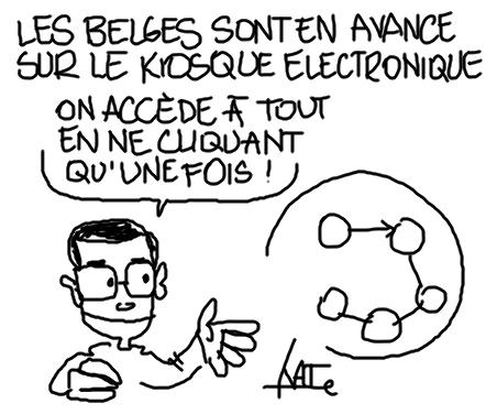 Kiosque belge