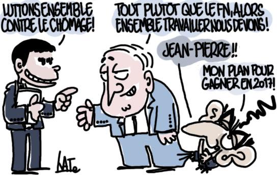 Valls et Raffarin se tendent la main