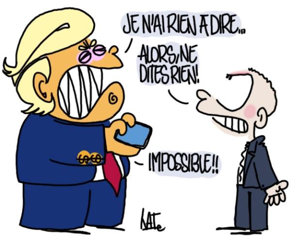 Trump touite