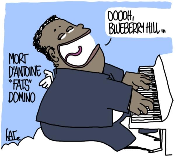 Fats Domino est mort